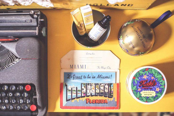 L'Occitane Miami old postacard Kielh's