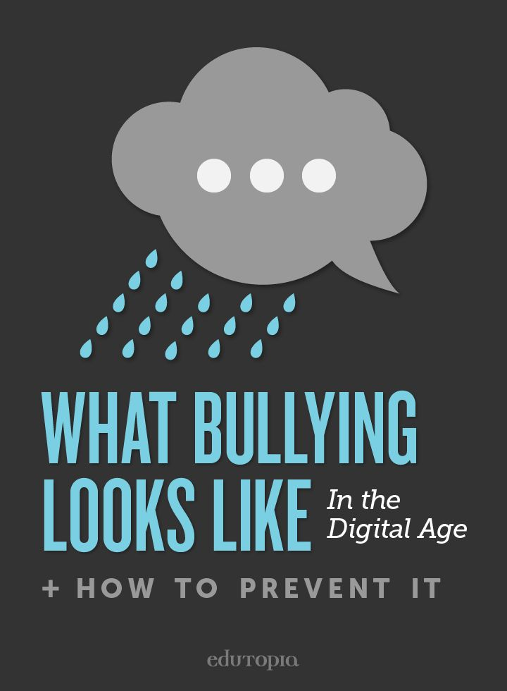 This article can be shown to teachers, students, and parents. It talks about Cyber-Bullying and how to prevent it from happening. This is very important topic to talk about because it is a big issue today.