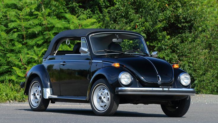 1979 Volkswagen Super Beetle Epilogue Edition presented as Lot F28 at Monterey, CA