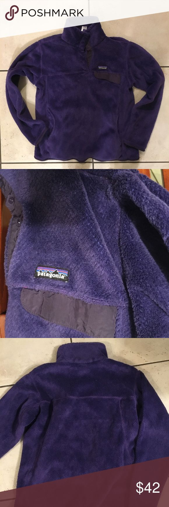 Patagonia pullover Euc pullover in purple Patagonia Jackets & Coats