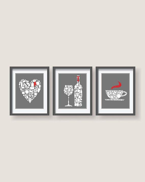 Best 25+ Red kitchen decor ideas on Pinterest | Small ...