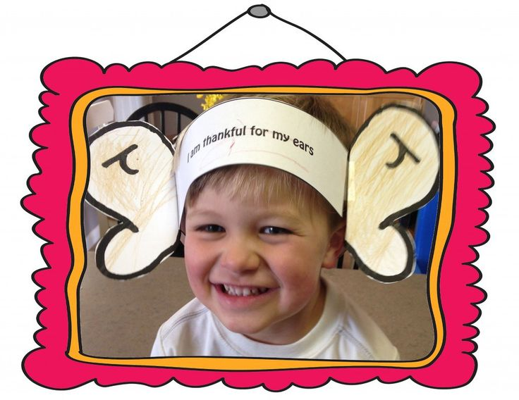 LDS Primary Lesson 18: I am thankful for my ears