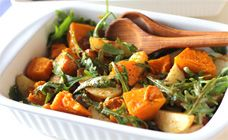 Roasted Vegetable and Rocket Salad Recipe - BBQ