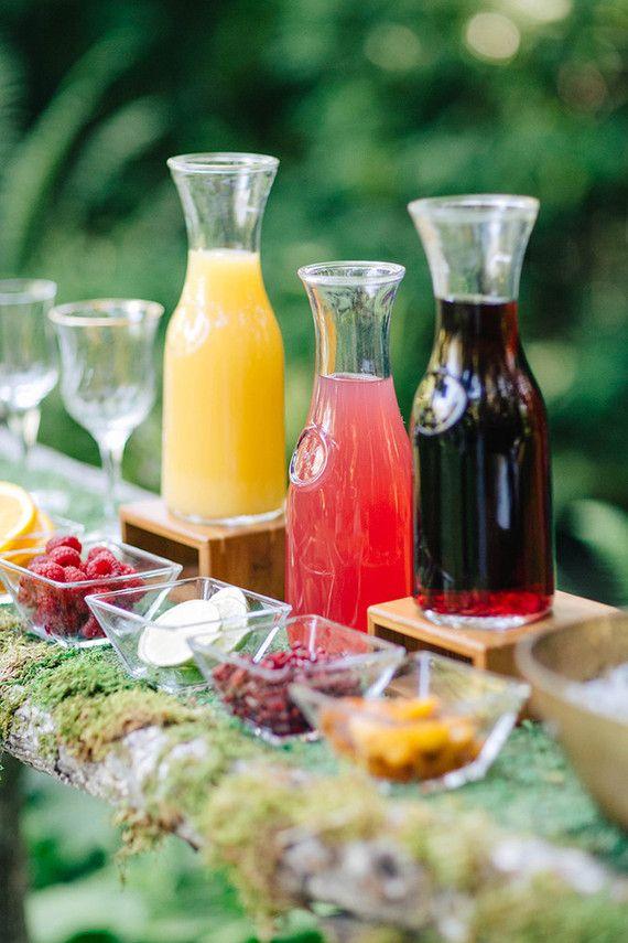 ideas for bridal shower brunch food%0A Woodland garden brunch bridal shower