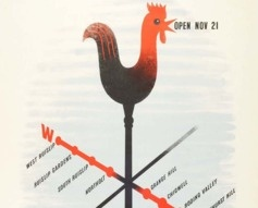 1935 London Underground Central Line Extensions Poster