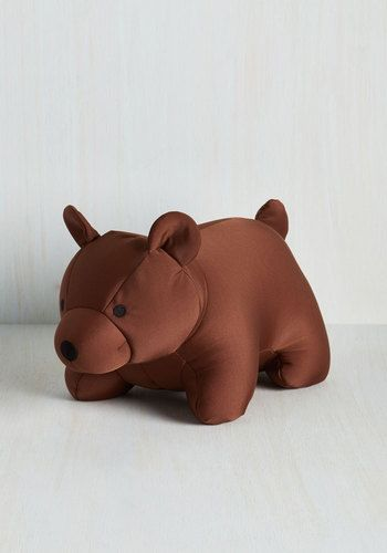Bear You've Been Travel Pillow by Kikkerland - Brown, Quirky, Travel, Travel…