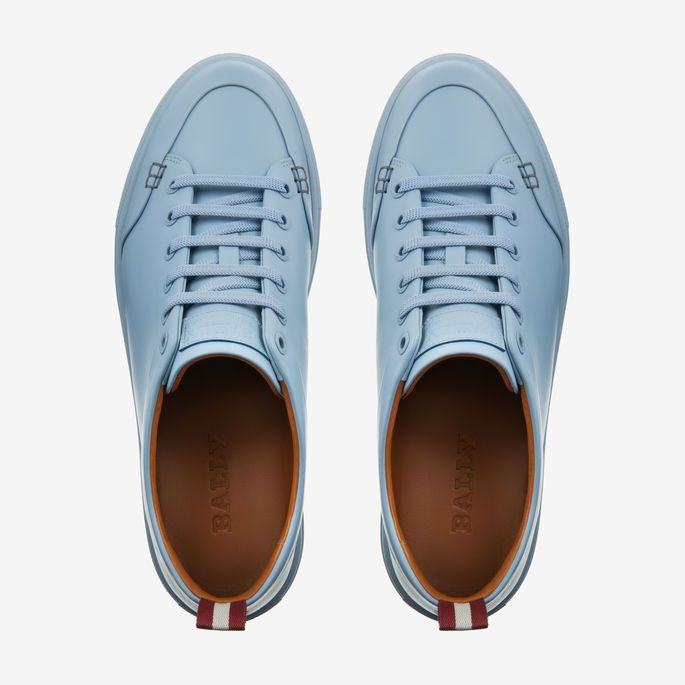 BALLY-HELLIOT   Shoes, Leather sneakers