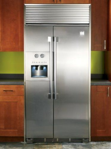 Electrolux Icon Series Kenmore Pro 44333 Counter Depth Side By Stainless Steel Refrigerator Trim Kit 4480 House Archive In 2018
