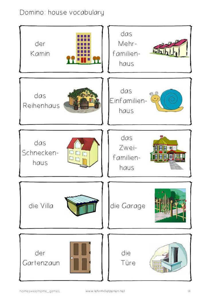 Domino: Häuser, Räume, Möbel