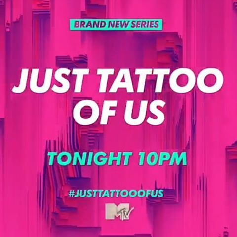 TUNE IN right now we've got a brand new episode of @justtattooofus for you we've got special guests @chloe.khan & @mrashleycain picking tattoos for each other, @stevie_bear nearly gets his car smashed in and I get to settle a battle of the egos 😈 please make sure to tune in!! ❤