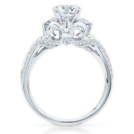the artiste regal engagement ring by scott kay bridal artiste by scott kay collections helzberg diamonds - Helzberg Wedding Rings