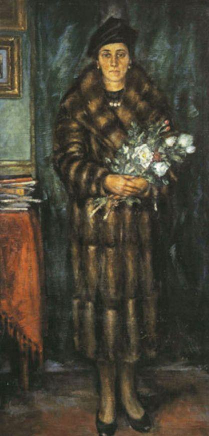 Ardengo Soffici, Ritratto della moglie (1942)