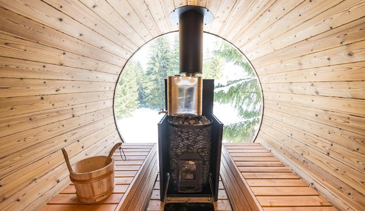 Sauna with a view!