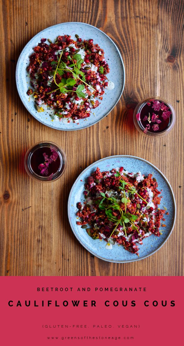 This Beetroot and Pomegranate Cauliflower Cous Cous Salad takes a vegan spin on a Dan Doherty X @LoveBeetroot collaboration for a healthy, nutritious vegan meal ready in minutes.