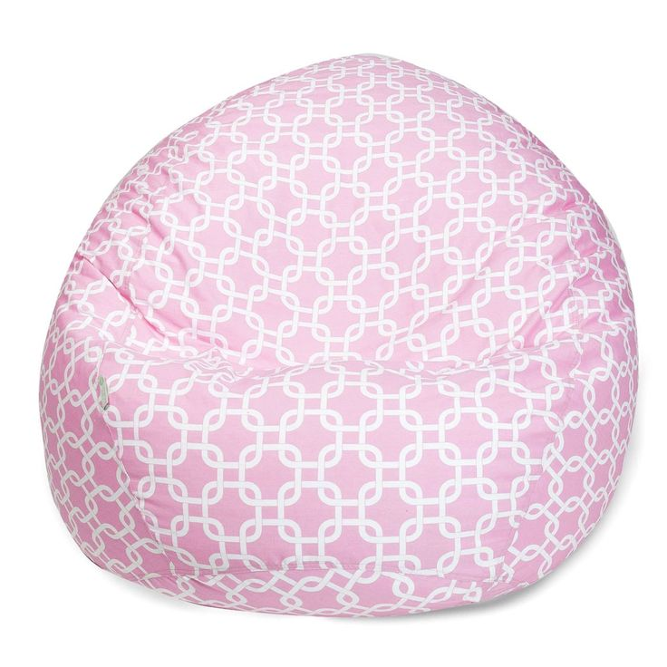 Soft Pink Links Small Classic Bean Bag
