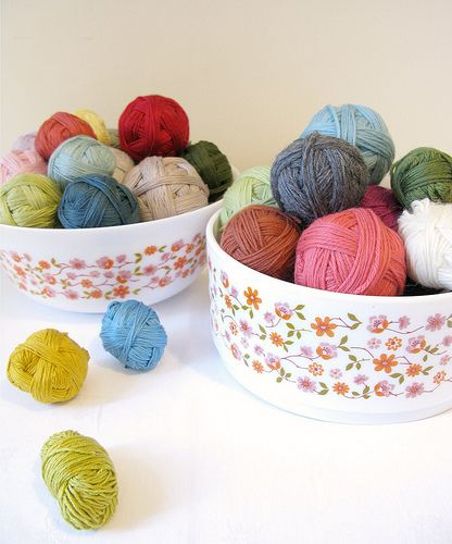 : Colour Collection, Arcop Bowls, Acrop Bowls, Pretty Bowls, Happy Colors, Pretty Yarns, Delicious Yarns, Emma Lamb, Bowls Stuffed