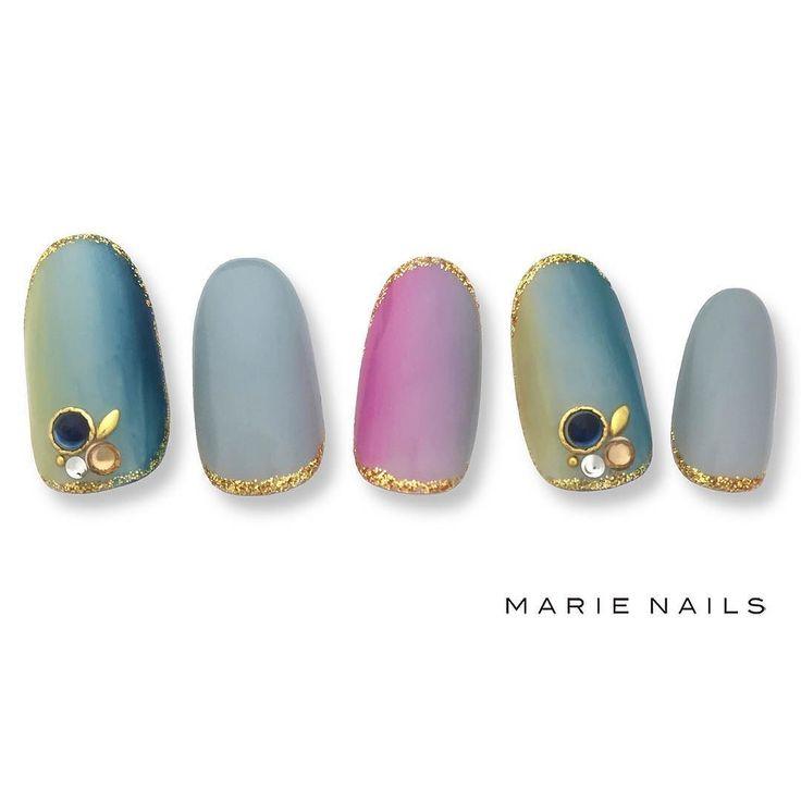 #マリーネイルズ #ネイル #kawaii #kyoto #ジェルネイル #ネイルアート #swag #marienails #ネイルデザイン #naildesigns #trend #nail #toocute #grey #nails #ファッション #naildesign #ネイルサロン #beautiful #nailart #tokyo #fashion #ootd #nailist #ネイリスト #gelnails #大人ネイル #グラデーション #pink #シンプルネイル