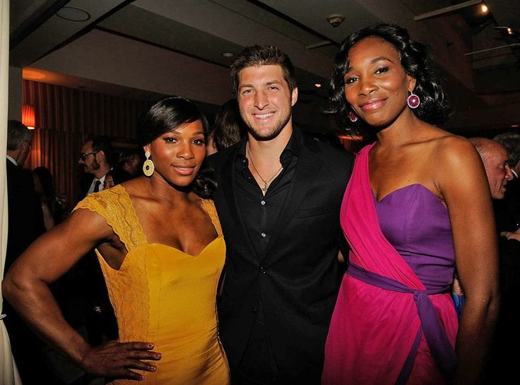 Teabow and the Williams Sisters. They look decent