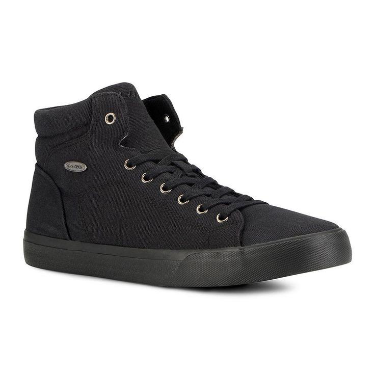 Lugz King Men's High Top Sneakers, Size: medium (11.5), Black