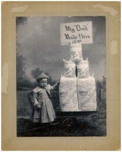 Butte Creek Oregon flour mill picture 1899