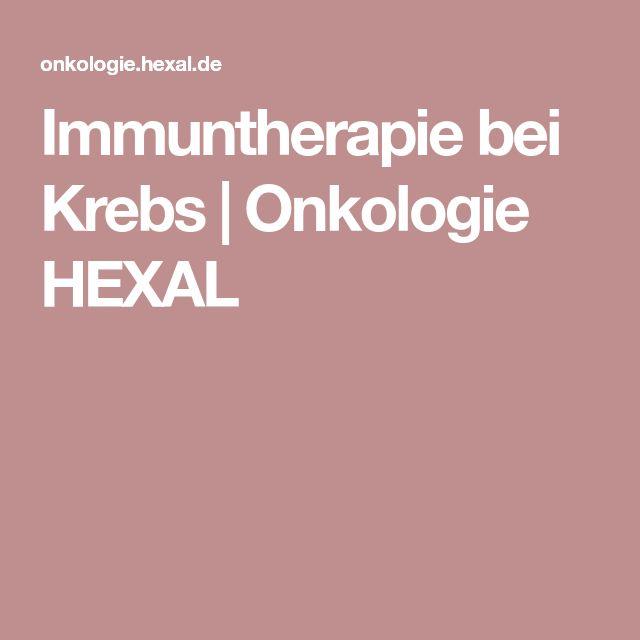 Immuntherapie bei Krebs   Onkologie HEXAL