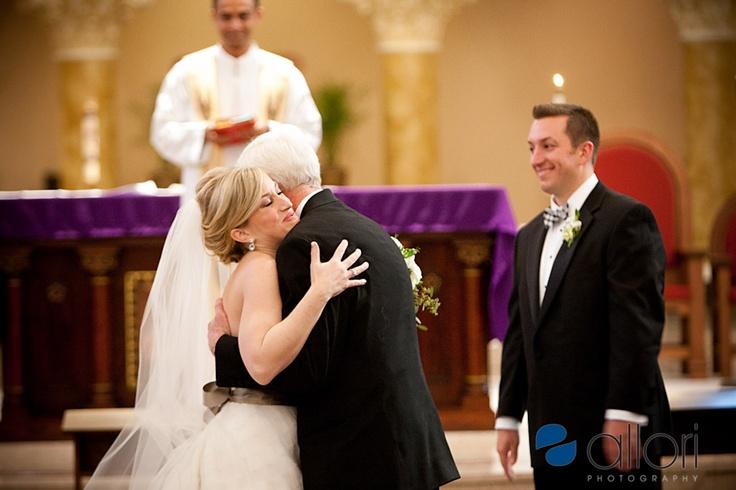 St. Benedict wedding ceremony pictures in Chicago