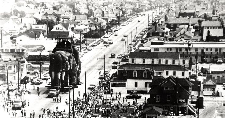 In June of 1970 the residents of Margate, NJ got quite a treat as they saw Lucy the Elephant being moved slowly down the street to her new...