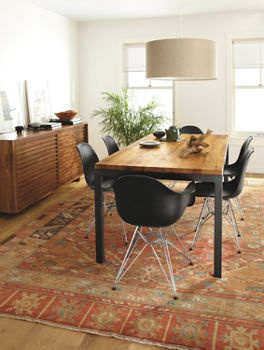Room And Board Parsons Dining Table In Reclaimed Chestnut Dining