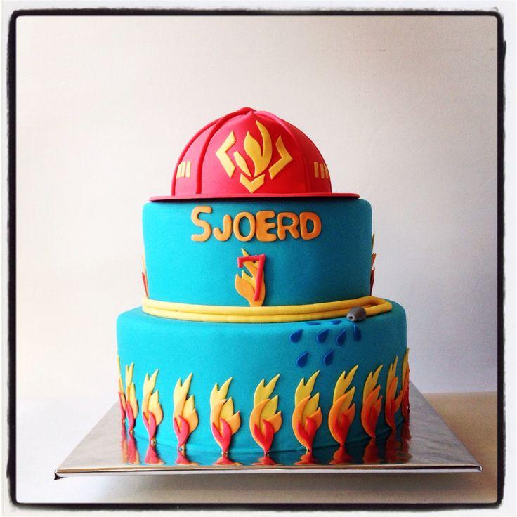 Brandweertaart #love4cakes
