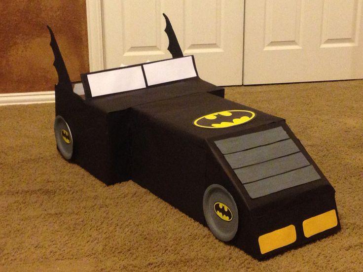Batman Box Car Made For Preschool For The Kids