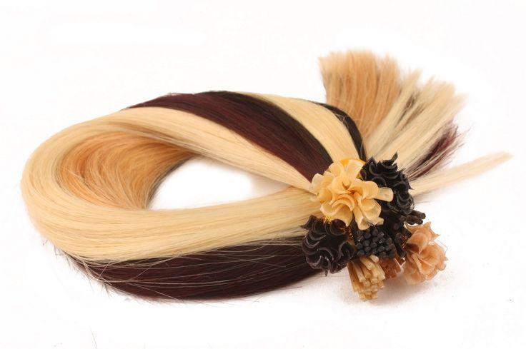 U Tip Hair Extensions-04