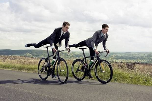 Olympians - The Brownlee Brothers shot for ES by Jonathan Glynn Smith