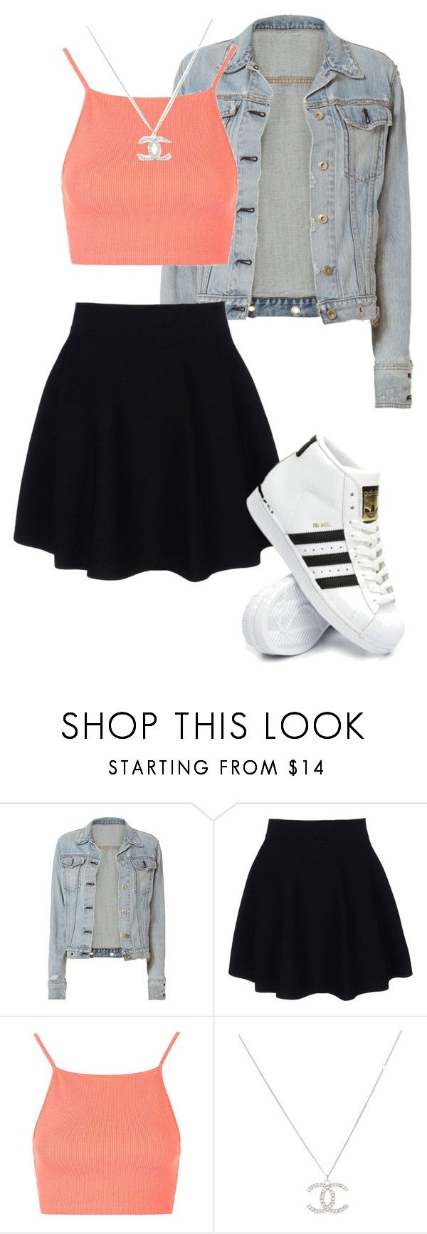 """Untitled #787"" by katiemiller-v on Polyvore featuring rag & bone, Theory, Topshop and adidas"