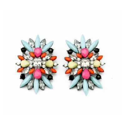 Buy Multicolor Various Geometric Earrings Online At Best Prices In India  Dulce Couture