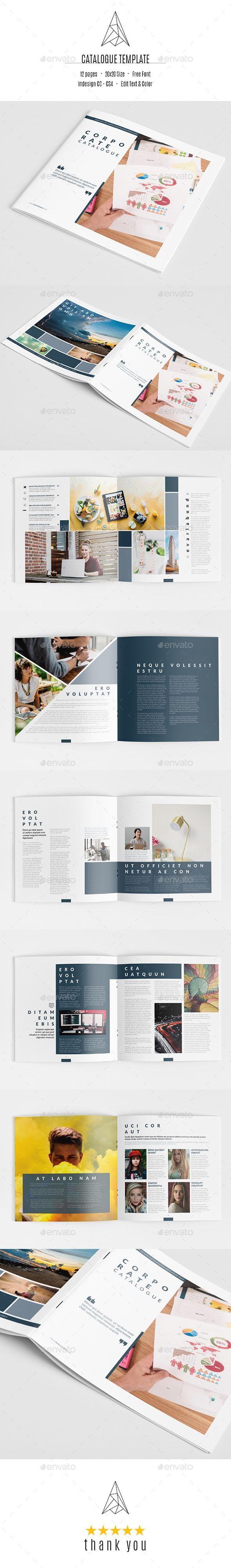 Corporate Catalogue Template Brochure Design Template Catalogue Design Templates Templates