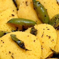 Dhokla: The timeless #Gujarati delicacy, partly microwaved, now at your fingertips.