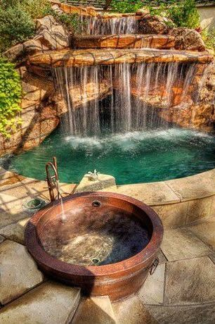 """""""View this Great Rustic Hot Tub with Raised beds & exterior stone floors by Brad Andersohn. Discover & browse thousands of other home design ideas on Zillow Digs."""""""