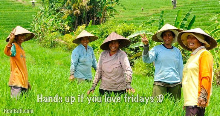 Make today ridiculously amazing!! #HappyFriday #Bali #travel #holidays #people #quotes