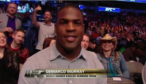 DeMarco Murray was booed at the UFC 185 in Dallas, a taste of what he will receive when he returns i... - You Tube