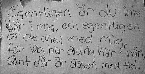 Minnen från Aprilhimlen - Håkan Hellström