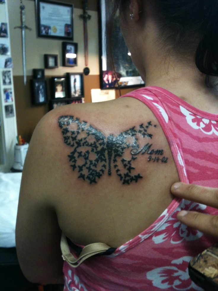 RIP mom tattoo :)