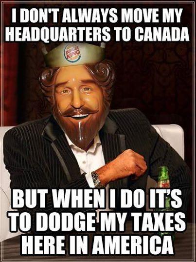 Corporate Tax Inversions/cheats