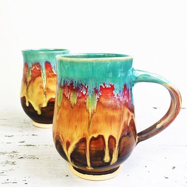 Beer Stein or large Mug in Joyful Blaze or Autumn Song