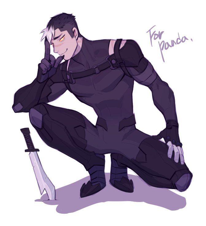 deadᕕ( ᐛ )ᕗgecko в Твиттере: «commission stuff kuro in galra inner armor…