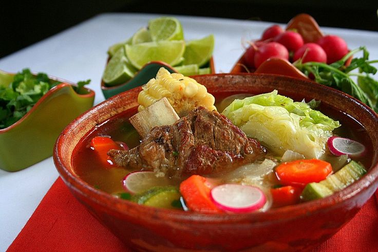 A hearty traditional Mexican soup -- Caldo de Res, or beef soup, will warm the kitchen and your heart.