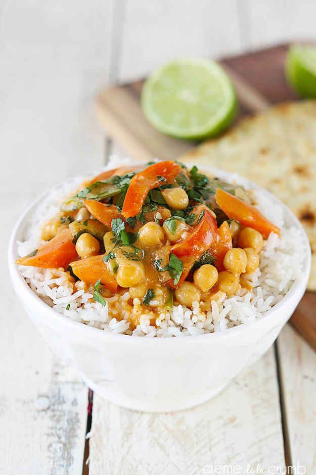 20-Minute Chickpea Curry