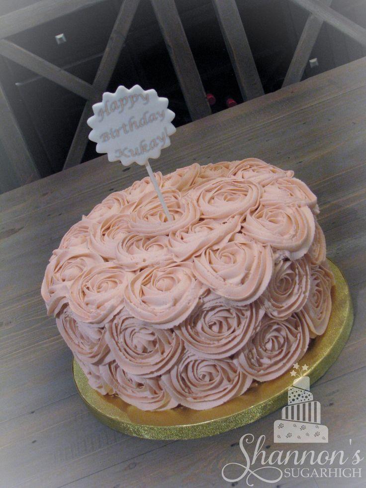 Vanilla Buttercream Cake Filling