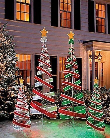 50+ Wonderful Christmas Decorations Outdoor Lights_5 - 50+ Wonderful Christmas Decorations Outdoor Lights_5 Christmas