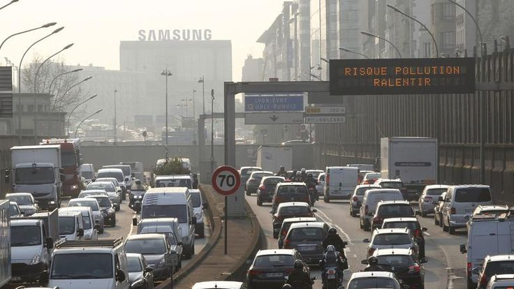 Pic de pollution sur Paris. La circulation alternée sera facilitée