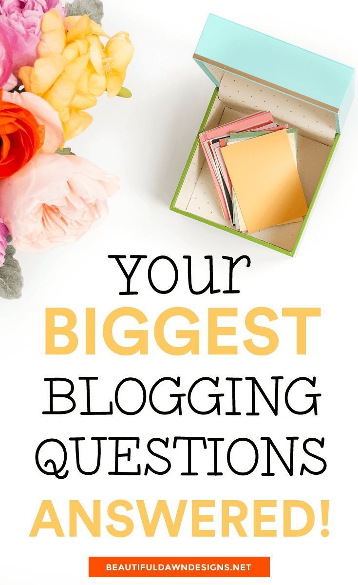 Sharing 5 common questions asked by new bloggers. I'm also providing answers to these commonly asked blogging questions from new bloggers. Blogging tips. via @tiffany_griffin